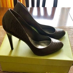 Gianni Bini dark brown heels.